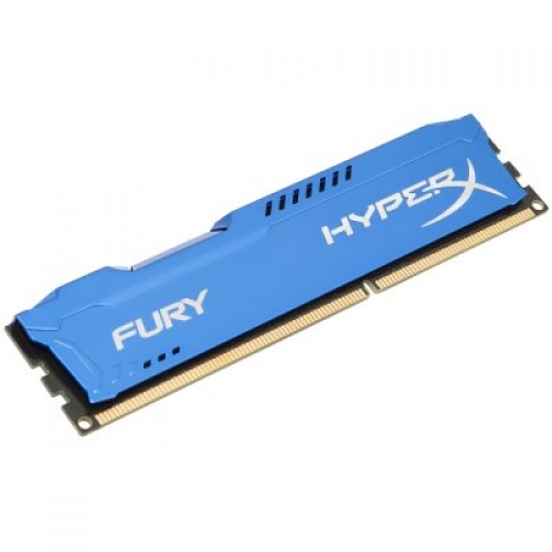 RAM 4GB 1600MHz DDR3 HyperX KINGSTON  FURY Blue Series